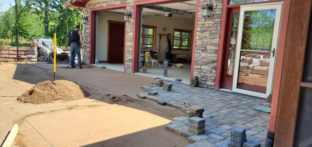 re-landscaping-st-croix-falls-driveway-apron-1