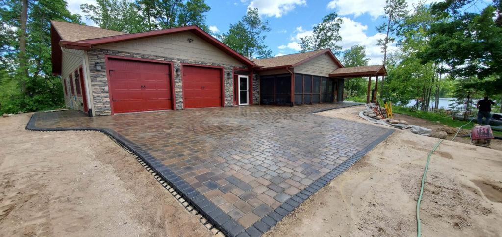 re-landscaping-st-croix-falls-driveway-apron-3